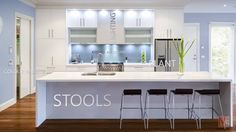Contemporary Kitchen Flooring With Small White Kitchen Wood Floor Kitchen Category Modern Kitchen Design On Kitchen One Wall Kitchen, Wood Floor Kitchen, Home Decor Kitchen, Kitchen Ideas, Kitchen Planning, Glass Kitchen, Diy Kitchen, Kitchen Storage, Kitchen Small