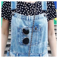 Jardineira jeans #macacão adoooroo