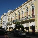 Hotel Melia Ponce, $110/nt with breakfast, WiFi, $3 parking, good location downtown, king bed