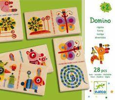Domino Zebranimo  -  Idade Recomendada + 2 Anos Dimensões 21,5 x 18,5 x 4 mm Conteúdo 28 Peças com 8,5 x 4,5 x 0,6 cm      €17.95