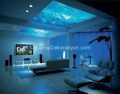 H20 Hotel Manila Philippines schlafzimmer wand | Aquarium ...
