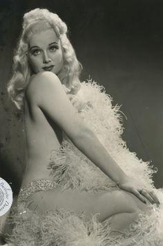 burlyqnell | June St. Clair - The Platinum Princess 1940