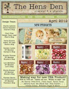 The Hens Den April 2012 Newsletter