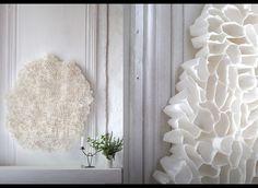 Sculpture de papier.