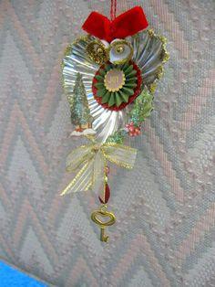 Tart tin ornament. $2.50, via Etsy.