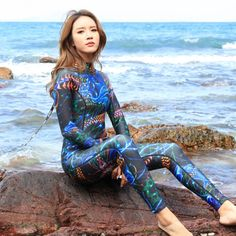 Women'S Wetsuits In All Types Of Diving Conditions. The Latest Technology Is Used To Keep You Warmer And Prevent Being Scratched. Scuba Wetsuit, Tight Suit, Girls Mermaid Tail, Diving Suit, Wet Look Leggings, Womens Wetsuit, Kids Swimwear, Swimsuits, Sailing Outfit
