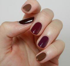 Let them have Polish!: Zoya Entice Chocolate Drops Look #NailPolish #FallNailPolish