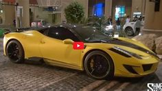 This matte yellow Mansory Siracusa 458 was spotted in Dubai and it is Insane! Check it out by hitting the image... #supercars #superrich
