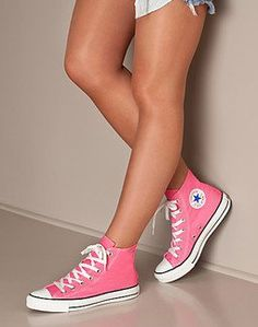 Pink converse...I sported these a number of years ago!
