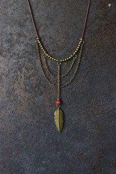 VENTA artículos, collar de plumas collar tribal, boho collar, joyería hippie, regalo para mujer, collares únicos, regalos, joyas de Bohemia