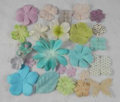 Prima Flowers Sampler Assortment No 338 by LayoutsFromTheHeart
