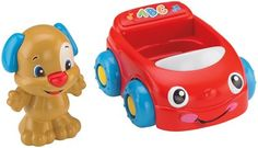 Fisher Price Laugh & Learn Puppy's Learning Vehicle