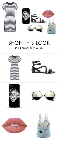 """""""Untitled #270"""" by dreamarie151 on Polyvore featuring Topshop, Forever 21, Lime Crime and Paul & Joe Sister"""