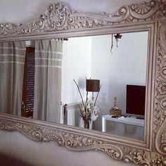 Oversized Mirror, Shabby, Furniture, Home Decor, Decoration Home, Room Decor, Home Furnishings, Home Interior Design, Home Decoration