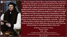 Thomas Cranmer - The Lord's Supper & Idolatrous practices Thomas Cranmer, Lords Supper, Communion, Worship, Christ, Teacher, Pastor, Professor