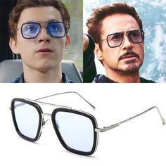 Eyewear Type: SunglassesItem Type: EyewearStyle: SquareLenses Optical Attribute: Optical Attribute: Anti-ReflectiveFrame Material: AlloyGender: MenDepartment Name: AdultLenses Material: PolycarbonateLens Height: Width: Number: Name: JOYMOOD Tom Holland, Cute Glasses, Mens Glasses, Tony Stark Sunglasses, Cat Eye Colors, Robert Downey Jr., Toms, Mode Top, Men Eyeglasses