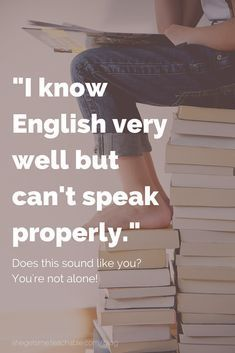 I know English very well but can't speak properly. This is normal for many people learning English. You have studied English at school and maybe watch TV and films in English, but you never speak. This Q&A also includes questions about English accent, the Speak English Fluently, Learn English Grammar, English Vocabulary Words, English Phrases, Learn English Words, Improve English Speaking, English Learning Spoken, English Language Learning, Speak Language