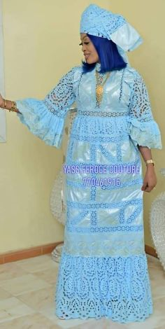 Model brodé African Inspired Fashion, African Men Fashion, African Fashion Dresses, African Attire For Men, African Wear, African Traditional Dresses, Traditional Outfits, Long Dress Fashion, Fashion Outfits