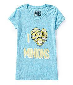 Disney 716 I Heart Minions Tee #Dillards