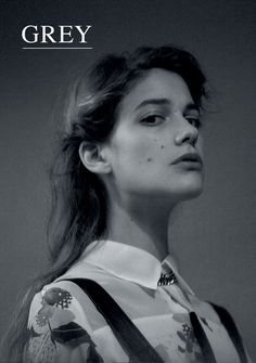 Actress Tea Falco by Stefania Paparelli, styled by Concetta D'Angelo on Grey Magazine