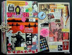 Awesome scrapbook/journaling idea!