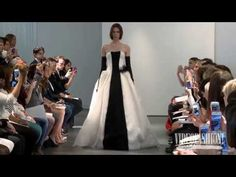▶ Vera Wang Bridal Spring/Summer 2014 - Videofashion - YouTube