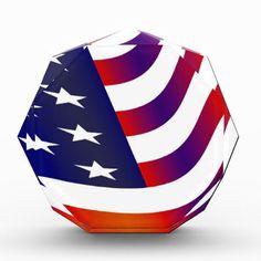 American Flag Award #USA #American #Flag #Liberty #Freedom #Equality #Acrylic #Award