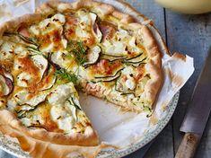 Découvrez la recette Tarte au thon et fromage frais sur cuisineactuelle.fr.