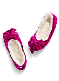 Her toes will thank you for these Kate Spade slippers.
