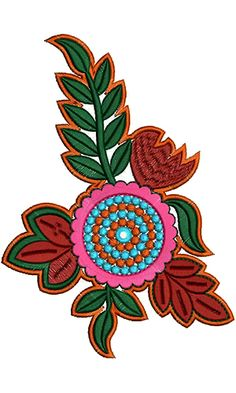 9227 Patch Embroidery Design