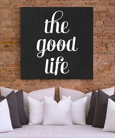 Transform empty walls into an eye-catching focal point with this striking canvas. Displayed in a contemporary living room or modern office space, this stylish piece lends a vintage vibe to décor. Industrial Interiors, Home Living Room, Apartment Living, Home Decor Furniture, Interiores Design, Boho, Decoration, Beautiful Homes, Life Is Good