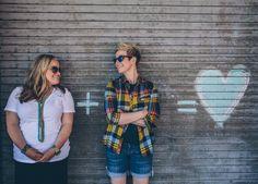 Mer & Brittni LGBTQ Elopement || handhweddings
