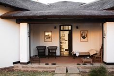 After extensive restoration, the original 1907 thatched roof rondavel (hut) has been turned into a museum dedicated to Gandhi and his philosophy. Satyagraha House in Johannesburg, South Africa