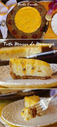 Torta Mousse Trufada de Maracujá. Não dá para errar com essa torta MARA. A acidez do maracujá e a doçura do chocolate branco se combinam perfeitamente. Não é nada complicada, …