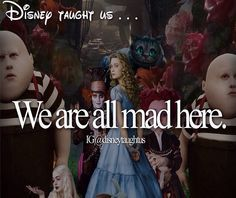 Disney taught us...