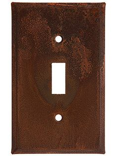 Country Tin Single Toggle Switch Plate | House of Antique Hardware