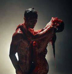 Adam Levine and His Wife | Maroon 5's Bloody 'Animals' Video Has Made Some People Very Angry ...