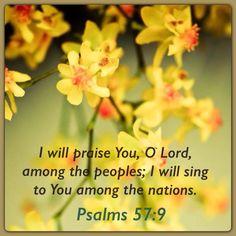 Psalms 57:9
