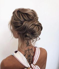 30 Incredible Hairstyles for Thin Hair French Twist Hochsteckfrisur ! Braids With Curls, Cool Braids, Amazing Braids, Bridal Hair Updo, Wedding Hair And Makeup, Updo Styles, Curly Hair Styles, Bride Hairstyles, Cool Hairstyles