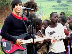 """I hate to brake it to you """"humanitarians"""", but Fall Out Boy's been promoting the Invisible Children for years. This is not a new thing. Although I do, and will, continue supporting this cause."""
