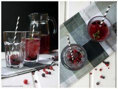 Beeren-Eistee, Eistee, Trinken, Getränke, Grillen Cocktails, Drinks, Healthy Tips, Smoothies, Coffee Maker, Table Decorations, Eat, Desserts, Kitchen