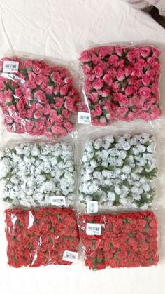 144 MINI ROSA FLORES ROSINHA ARTIFICIAIS | Cavalier decorações | Elo7
