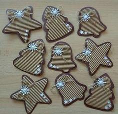 Good Idea for Christmas Cards. Christmas Activities, Christmas Crafts For Kids, Rustic Christmas, Winter Christmas, Kids Christmas, Holiday Crafts, Christmas Gifts, Christmas Paper, Christmas 2017