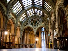 Manchester Town Hall, Manchester, Great Manchester, England here for 4 summers as a teen in the Loans and Investment Dept# Manchester City Hall, Manchester England, Transition Town, Hall Interior, Republic Of Ireland, Victorian Gothic, British Isles, Architecture, Barcelona Cathedral