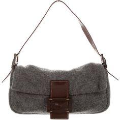 Pre-owned - Baguette wool handbag Fendi ZqiRwPJjs
