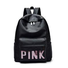 494430799c2 Women Girl Nylon Shoulder School Bag Backpack Travel Satchel Rucksack  Handbag Black Backpack, Tote Backpack