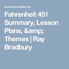 a character analysis of guy montag in fahrenheit 451 a novel by ray bradbury Fahrenheit 451 is a dystopian novel by american writer ray bradbury, published in 1953 it is regarded as one of his best works it is regarded as one of his best works the novel presents a future american society where books are outlawed and firemen burn any that are found.