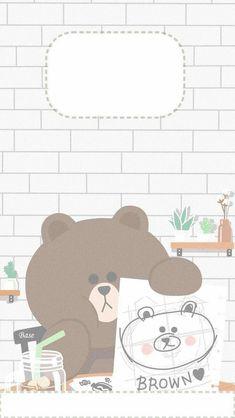 19 Ideas Wall Paper Cute Cartoon Friends For 2019 Cute Pastel Wallpaper, Soft Wallpaper, Bear Wallpaper, Cute Patterns Wallpaper, Kawaii Wallpaper, Cartoon Wallpaper Iphone, Aesthetic Iphone Wallpaper, Aesthetic Wallpapers, Cute Ipad Wallpaper