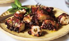 Grilled Octopus with Lemon and Olive Oil