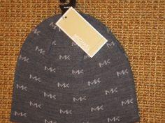 MICHAEL  KORS  MK  BEANIE  HAT  MEN'S KNIT  WINTER  SKULL CAP  MK LOGO  GRAY  #MichaelKors #Beanie Michael Kors Fall, Mk Logo, Baseball Caps, Hats For Men, Beanie Hats, Fall 2016, Knitted Hats, Winter Hats, Skull